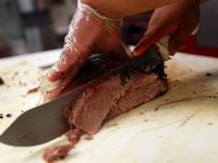 They couldn't all make the cut, it seems. But restaurants like Lockhart Smokehouse, Heim Barbecue, Pecan Lodge, Oak'd, Smoke Sessions and Smokey John's seemed like good contenders for the 'Texas Monthly' top 50 barbecue list. Five of the six were listed as honorable mentions.