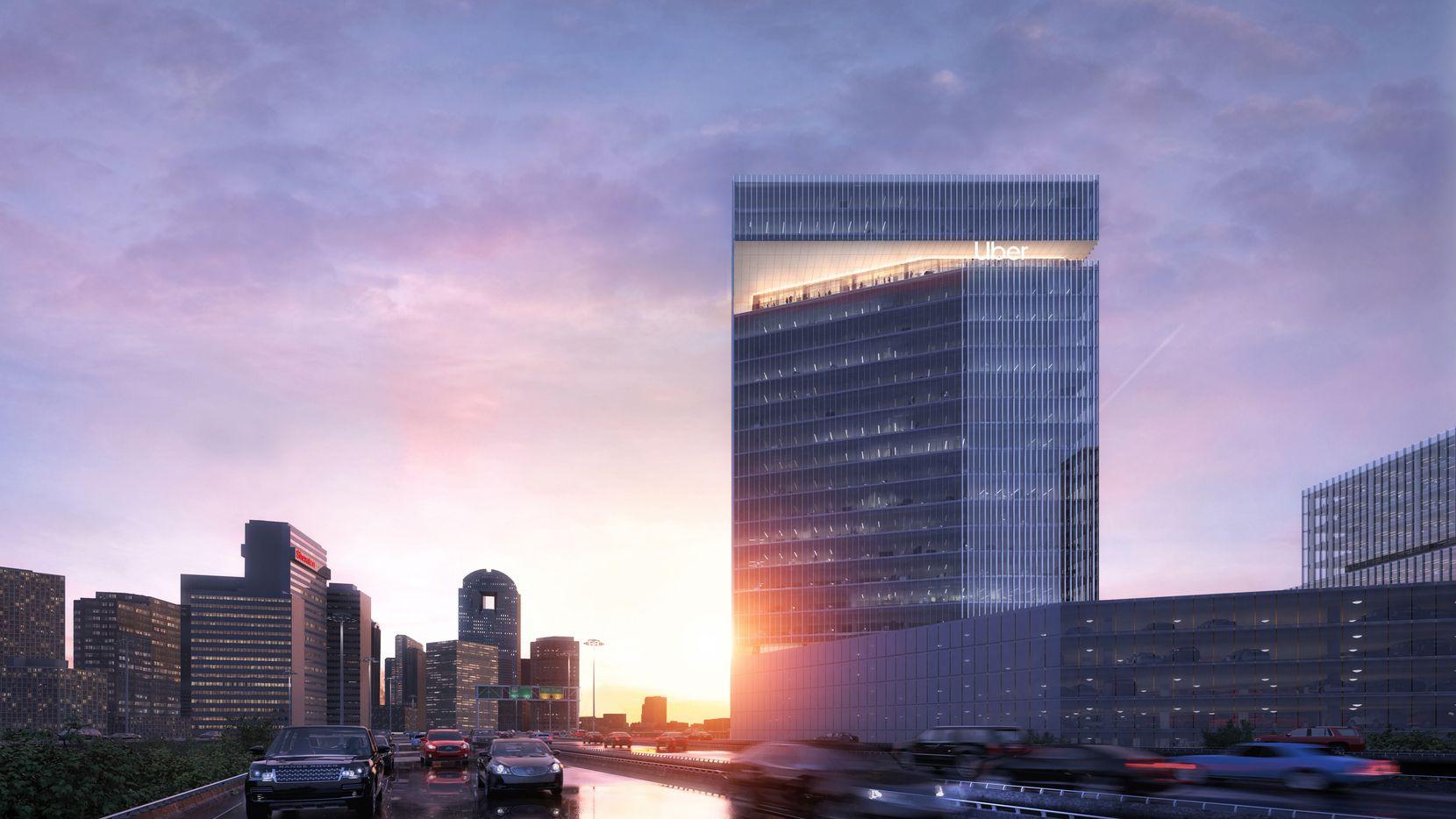 Uber se reubicará a un edificio de 23 pisos en Deep Ellum, que contará con ventanas inteligentes.