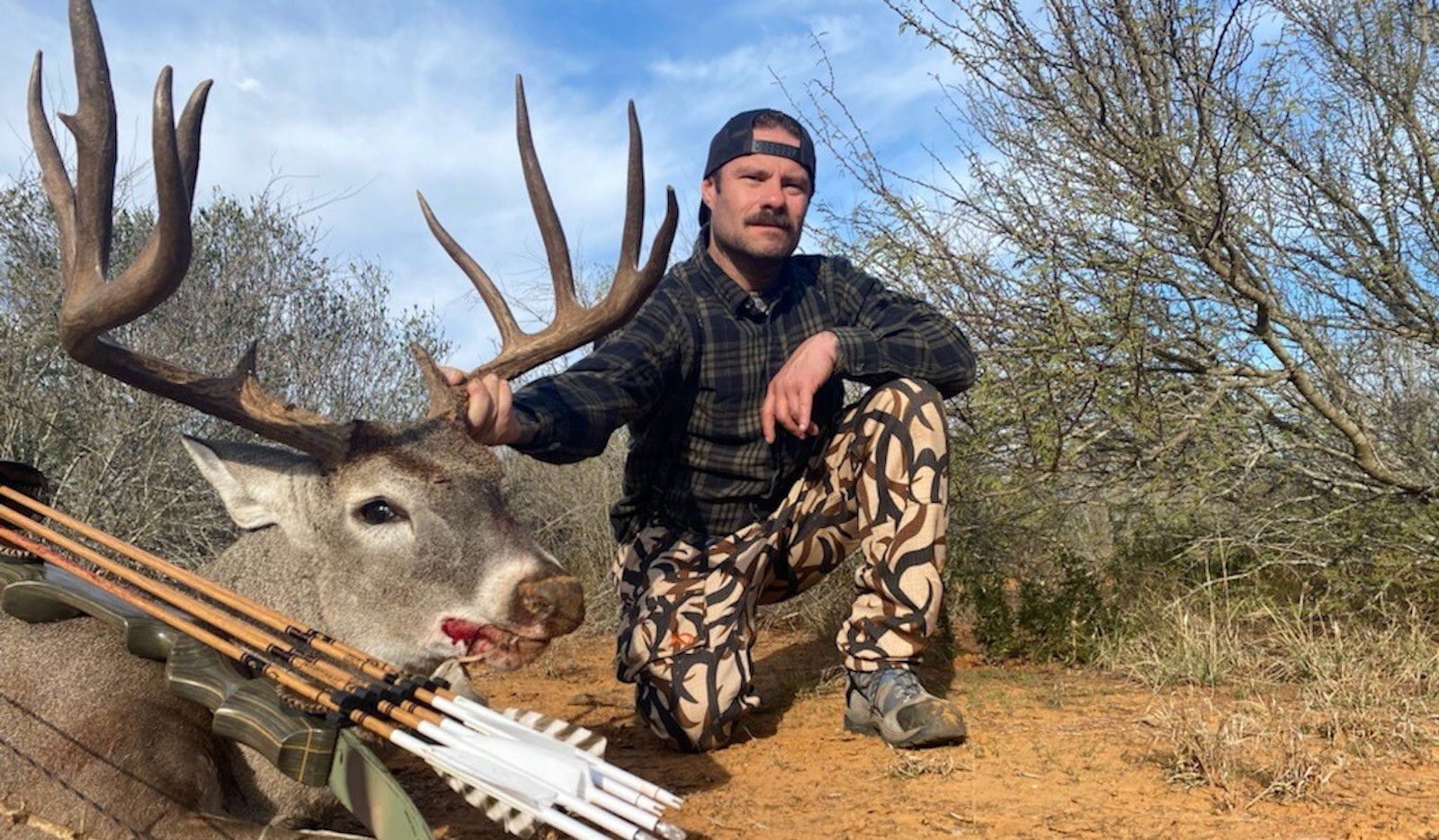 The Texas Parks and Wildlife Department recently launched its 2021-22 menu of drawn hunts. There are about 10,000 permits in 61 different hunt categories available this year. Primitive archer Chris Young arrowed this big 11-pointer last year on TPWD s Chaparral WMA in South Texas.