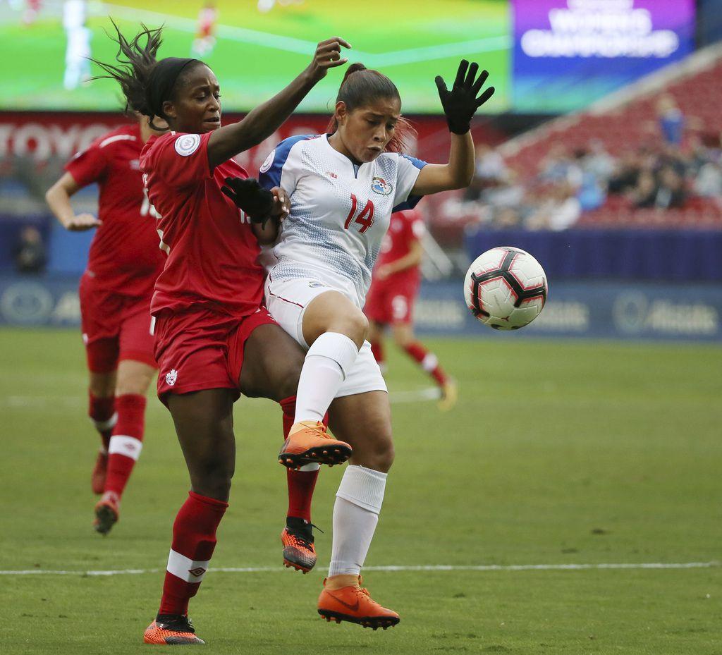 Canadá goleó a Panamá el domingo. (AP Photo/Andy Jacobsohn)