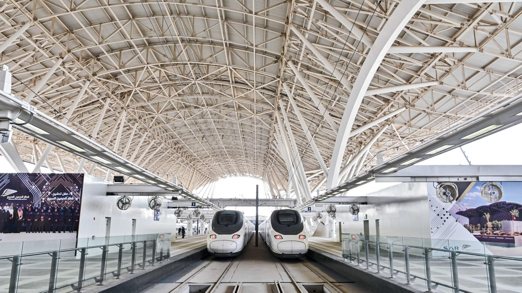Saudi Arabia's Haramain High Speed train linking Mecca and Medina was inaugurated by King Salman in September 2018. It showed bullet trains can thrive even in hot climates like Texas'.