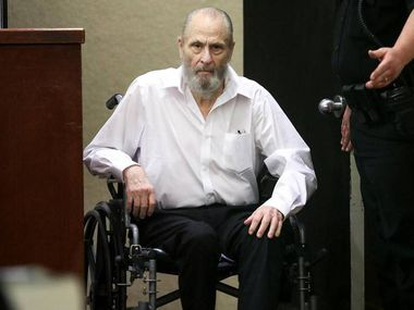 Glen McCurley entered the courtroom for the first day of his capital murder trial on Aug. 20, 2021, at the Tim Curry Criminal Justice Center in downtown Fort Worth. McCurley is accused of murdering 17-year-old Carla Walker almost 50 years ago.