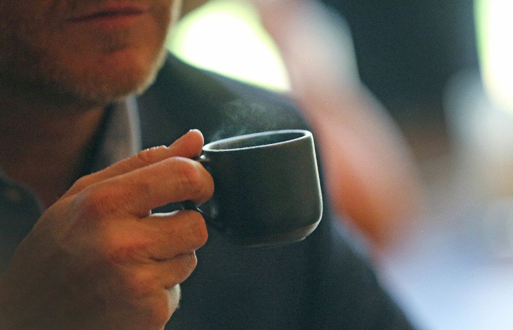 District Manager Daniel Svoboda calls the siphoned coffee an 'amazing, delicate cup of coffee.'