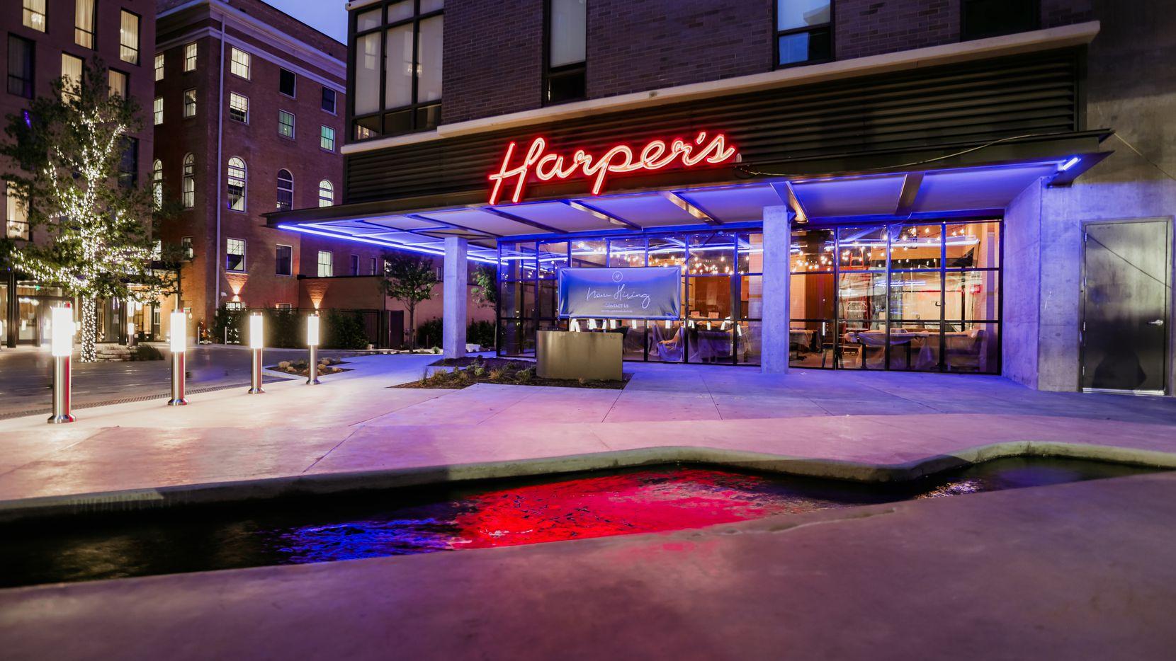 Harper's is a new restaurant in Deep Ellum, near Elm Street and Good-Latimer in Dallas.