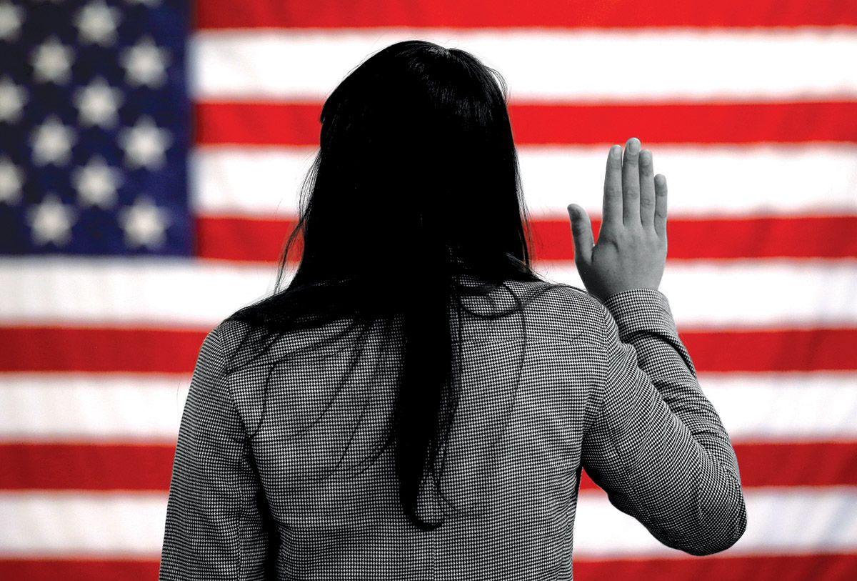 El estado de Texas puso en duda la ciudadanía de miles de votantes. FOTOILUSTRACIÓN DMN