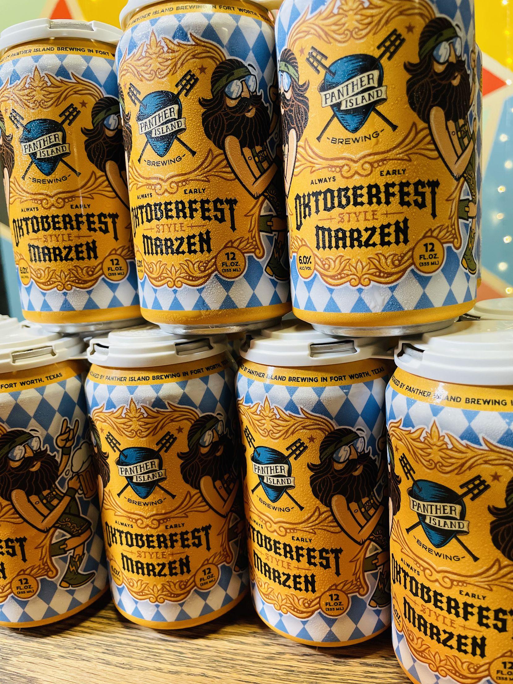 Oktoberfest-style marzen from Panther Island Brewing.