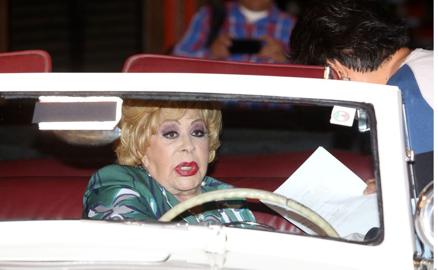 Silvia Pinal, de 89 años, es una actriz que destacó en la época de oro del cine mexicano.