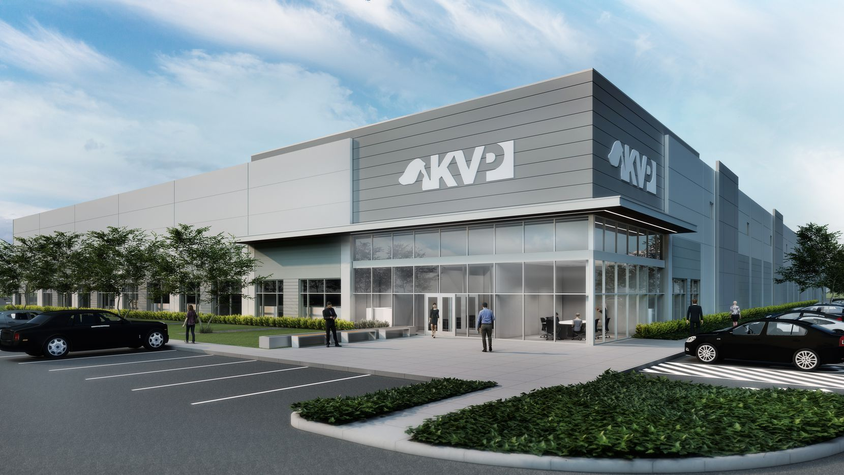KVP Inc.'s new office and industrial building is near U.S. 380 in McKinney.