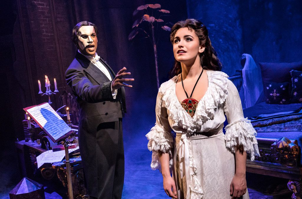 Dallas Summer Musicals is bringing The Phantom of the Opera to Fair Park Music Hall in December. (Photo by Matthew Murphy)