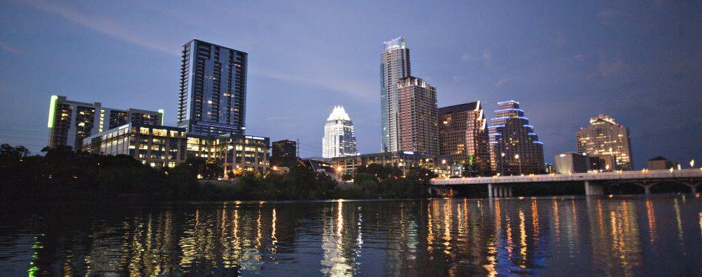 The Austin skyline
