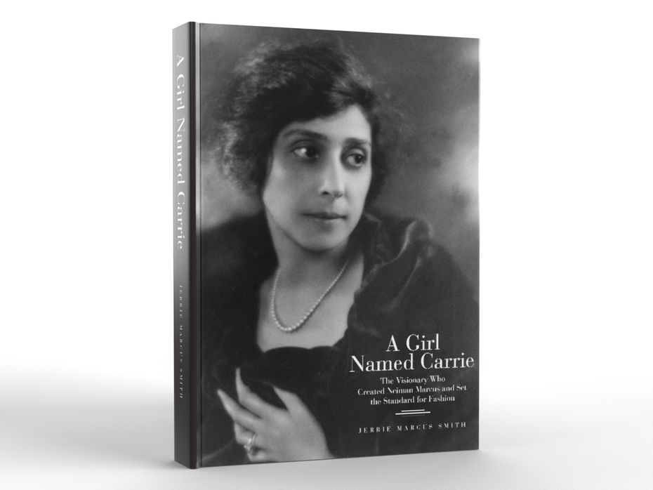 """The cover of the book, """"A Girl Named Carrie,"""" by Jerrie Marcus Smith."""
