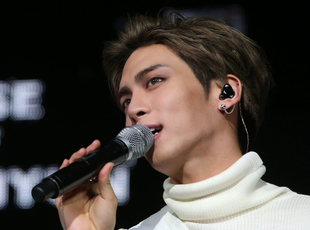 This undated picture released by Yonhap news agency in Seoul on December 18, 2017 shows Kim Jong-Hyun, singer of popular K-pop group SHINee. The singer died on December 18 in an apparent suicide, police said. Investigators believe he died from inhaling toxic fumes, as they discovered coal briquettes burnt on a frying pan upon arriving at the apartment.  / AFP PHOTO / YONHAP / - /  - South Korea OUT / REPUBLIC OF KOREA OUT  NO ARCHIVES  RESTRICTED TO SUBSCRIPTION USE    -/AFP/Getty Images