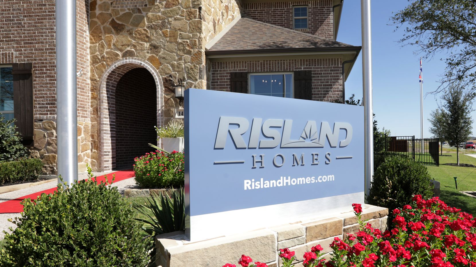 Risland Homes is opening its huge residential community in March along U.S. 75 north of Dallas.