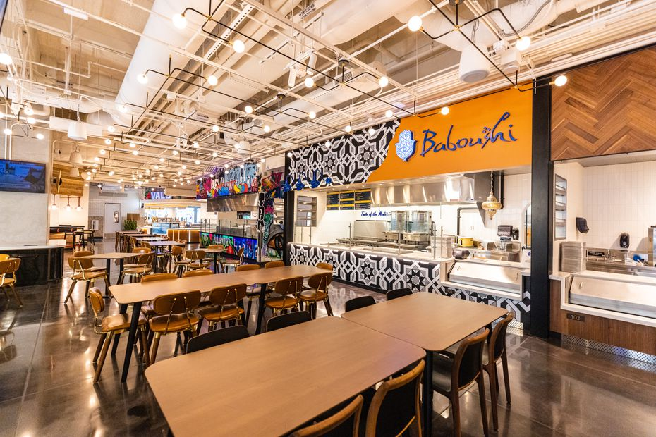 The Exchange at the AT&T Discovery District is a food hall with room for 16 tenants.