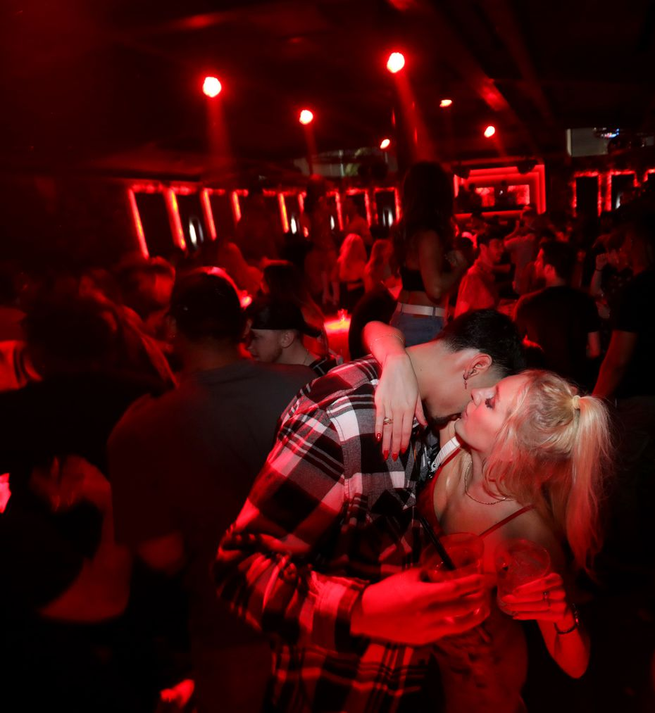 Guests dance and drink at Citizen in Dallas.