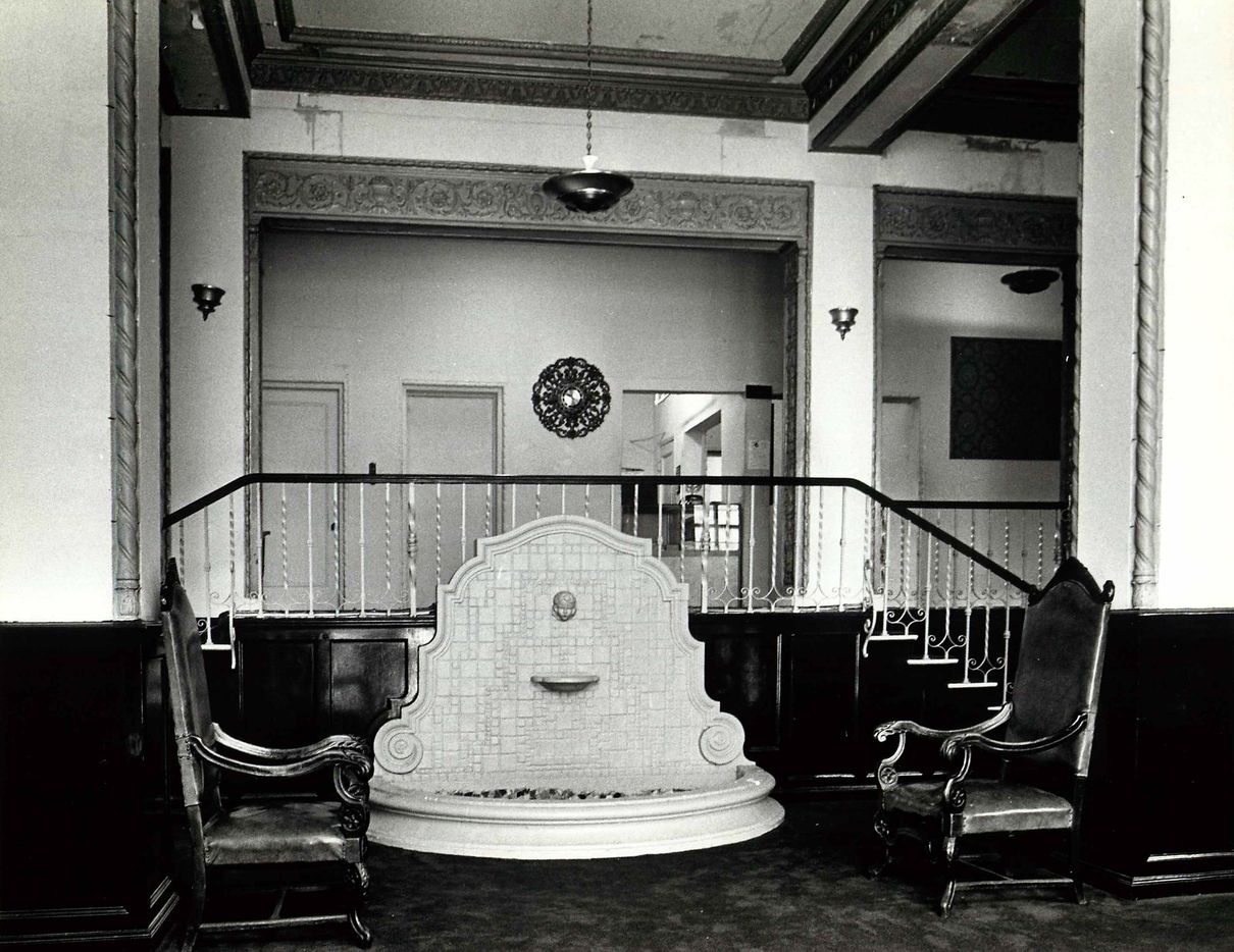 The lobby of the Ambassador Hotel, seen in September 1979.