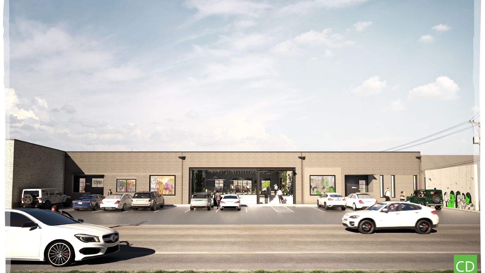 One of the Manufacturing Street buildings planned for renovations by Quadrant Investment Properties.