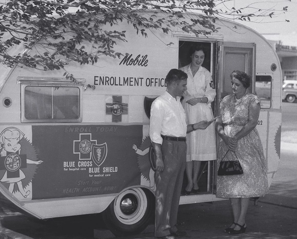 A Blue Cross Blue Shield of Texas Mobile Enrollment Office