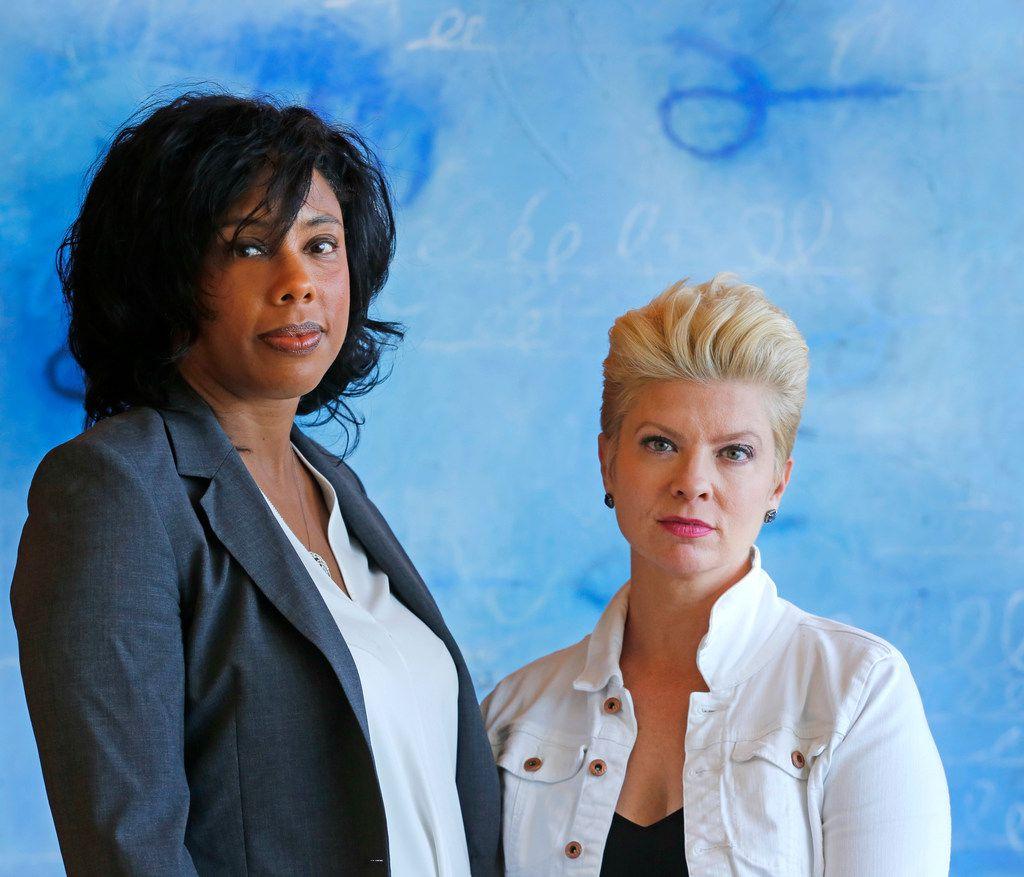 Attorney Sonja McGill and Danette Galvis
