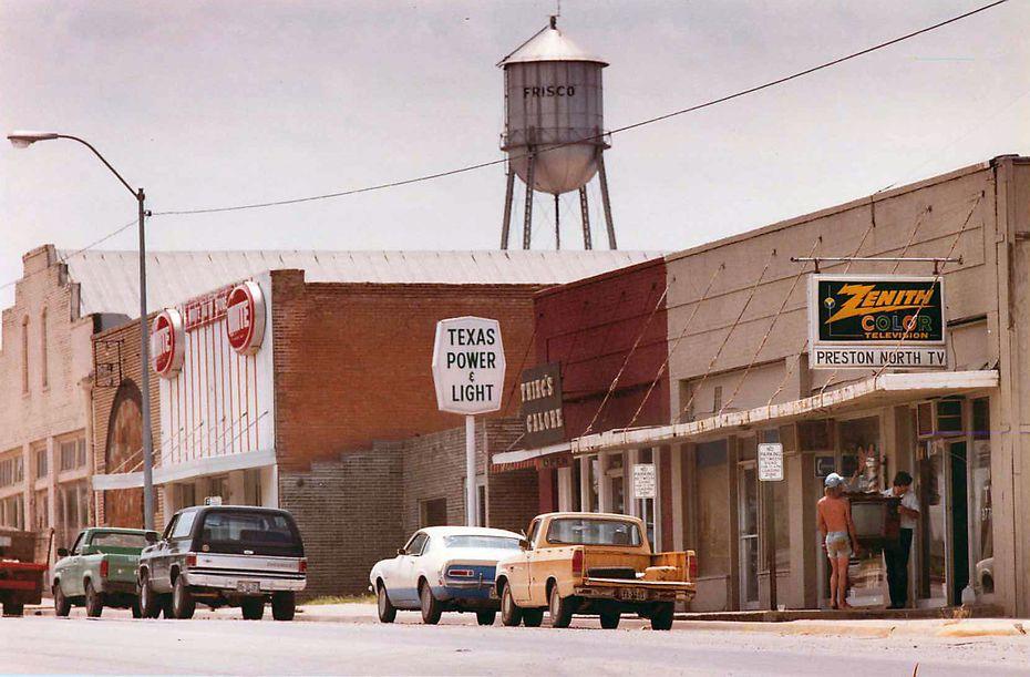 A look at Frisco, Texas, circa 1984 (John F. Rhodes / DMN)