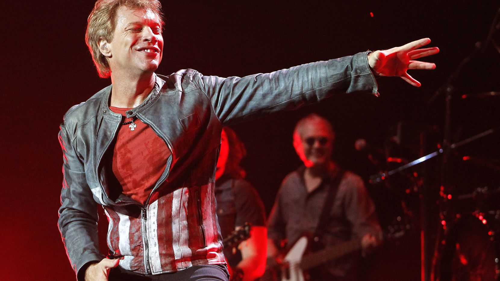 Singer Jon Bon Jovi performed at American Airlines Center in Dallas during Bon Jovi's 2013 tour. If you want to see the band during its AAC return on June 25, tickets will set you back nearly $140 apiece.