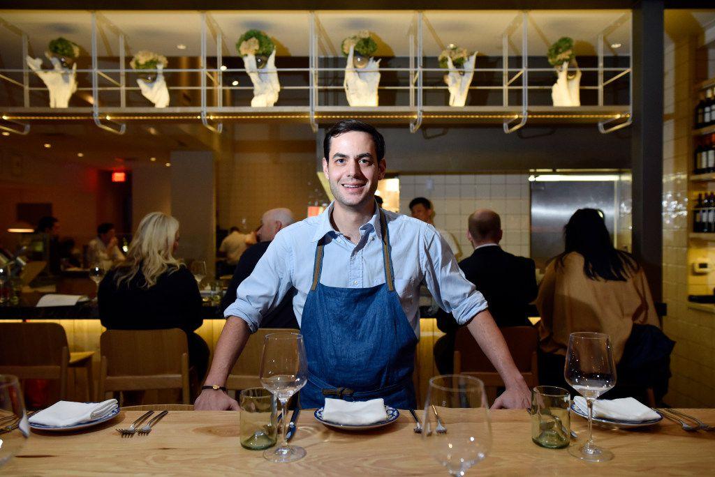 Sprezza chef-owner Julian Barsotti