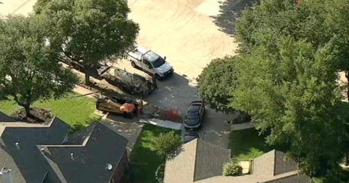 Un vecindario de Fort Worth tuvo que ser evacuado por una fuga de gas.
