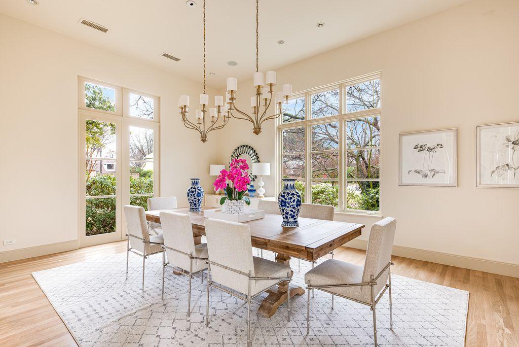 A look at the property at 6511 Joyce Way in Dallas.