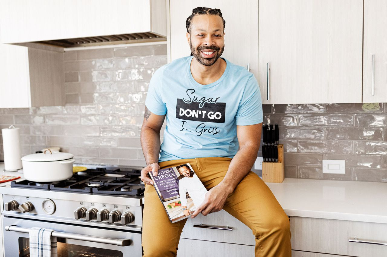 Chef Kenneth Temple is a personal chef in Dallas.