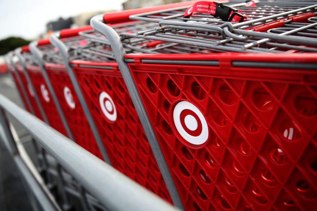 Minneapolis-based Target's sales increased by $15 billion during the year.