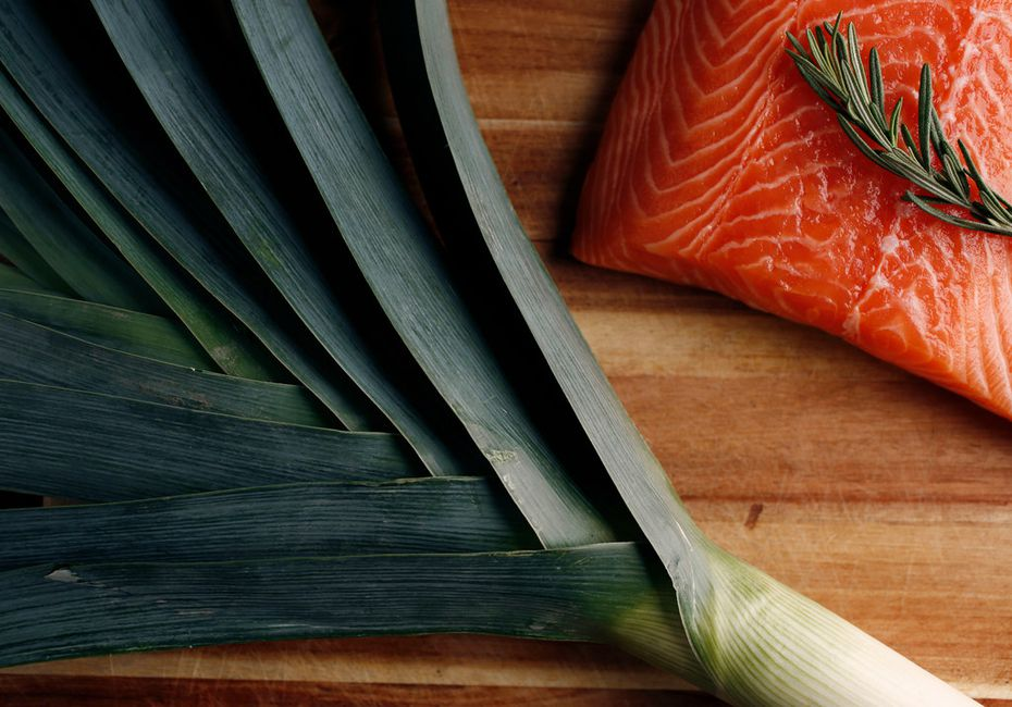 Vegans might be confused to hear that on the pegan diet, salmon is included.