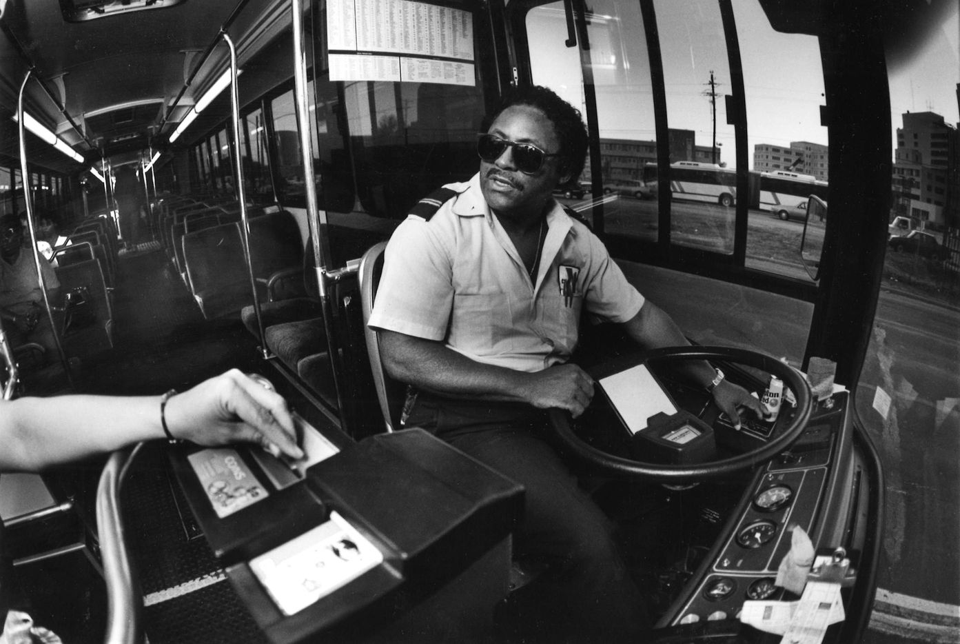 DART bus driver Ulysses Griffin had been a driver for 14 years in 1987.