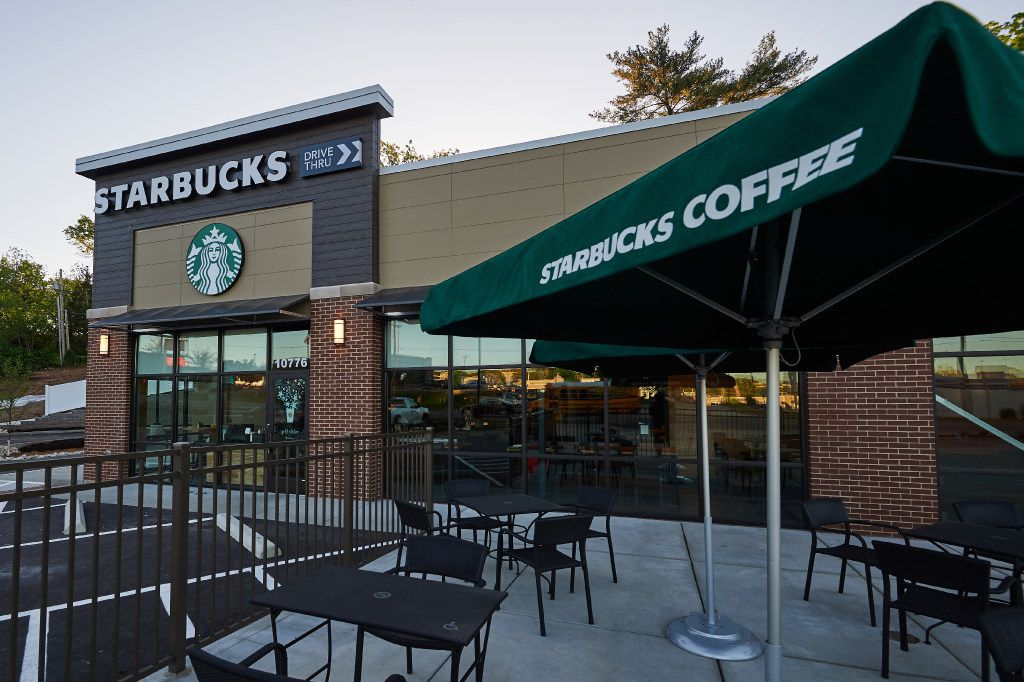 This Starbucks opened in Ferguson, Missouri on April 28, 2016. It's one of 15 that Starbucks is opening in low- and middle-income neighborhoods. Photo: Michael Thomas for Starbucks Coffee Company.