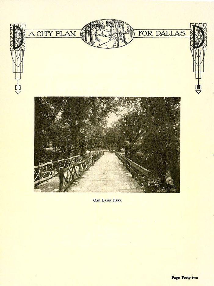 The Kessler Plan / A City Plan for Dallas - Report of Park Board / by George Kessler - 1911.