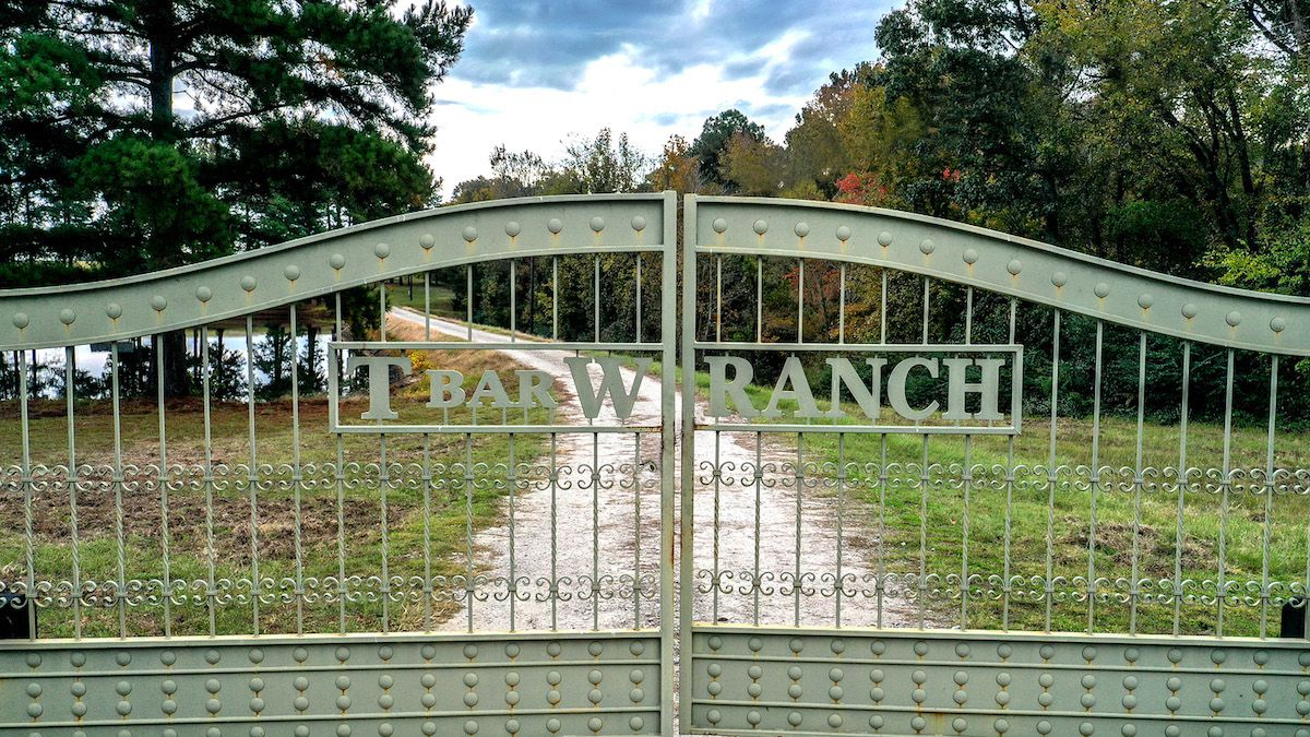 T-Bar-W Ranch is near Mineola, about 90 miles east of Dallas.