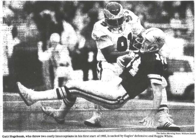 The Dallas Morning News, October 21, 1985.