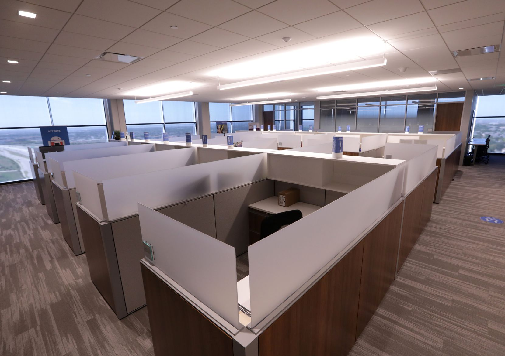 After the COVID-19 outbreak last winter, NTT Data Services moved nearly all its global workforce out of the office. By mid-October, the headquarters in Plano was still empty.