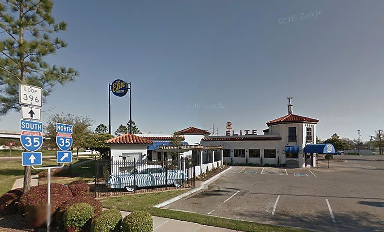 Waco's landmark Elite Café located on I-35 closed in February after 97 years in business. (Google Street View)