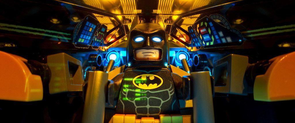 Batman is voiced by Will Arnett.
