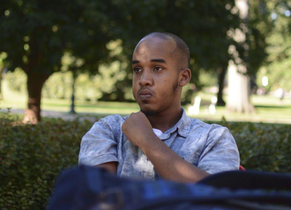 This August 2016 image provided by TheLantern.com shows Abdul Razak Ali Artan in Columbus, Ohio.