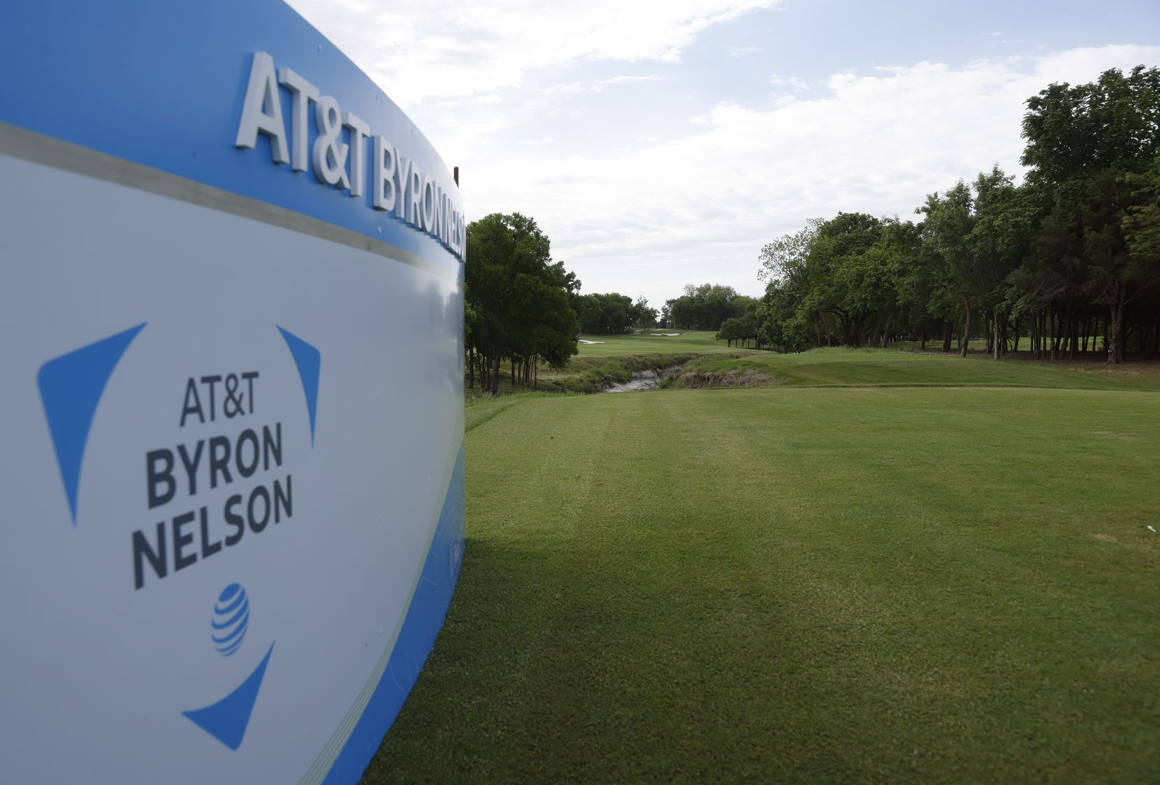 Hole no. 1 at TPC Craig Ranch on Wednesday, May 6, 2021in McKinney, Texas. (Vernon Bryant/The Dallas Morning News)