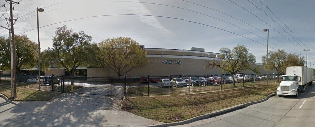 Mary Kay Cosmetics has operated its plant off Stemmons Freeway since the 1960s. (Google Streetview)
