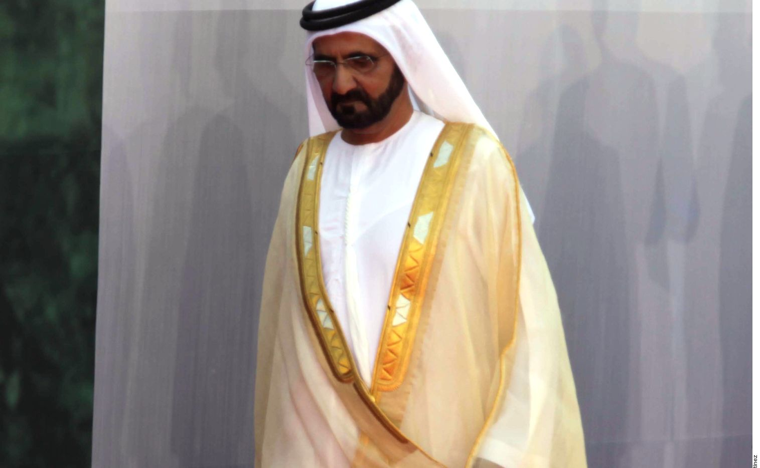El Jeque Mohamed bin Rashid, de Dubái, suma 3,898 millones de dólares.