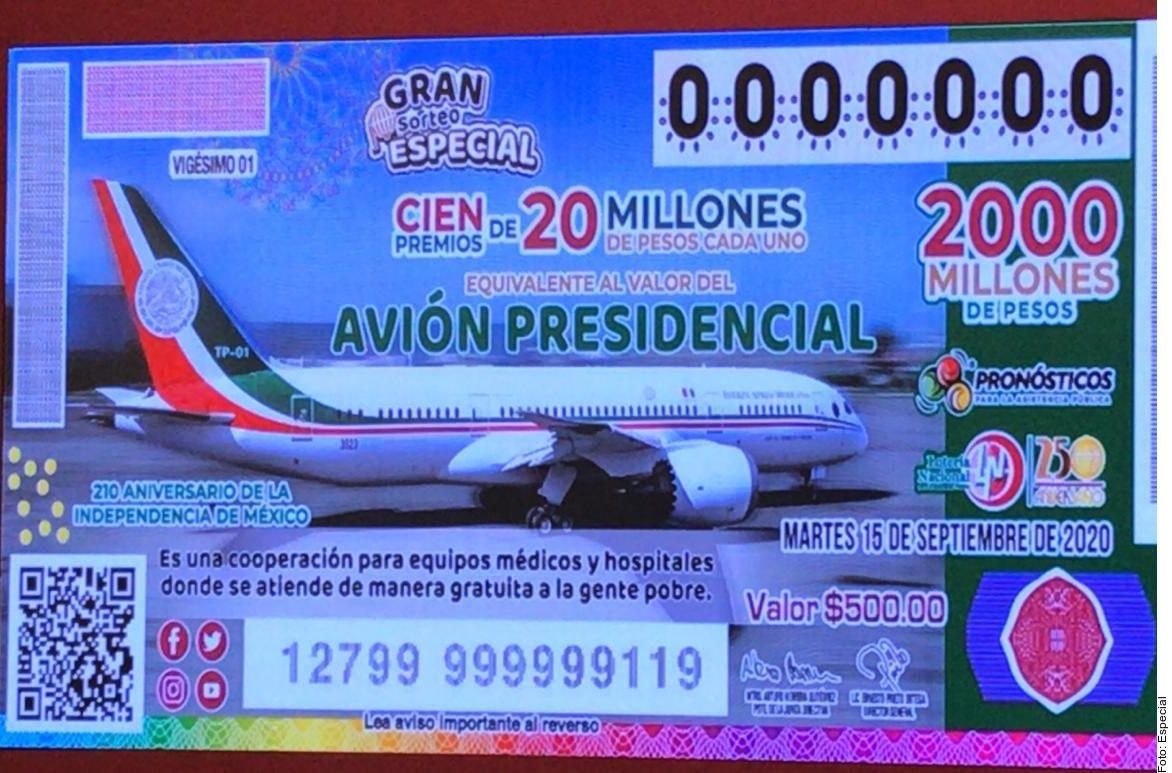 AMLO dijo el viernes que decidió rifar el avión presidencial de México.
