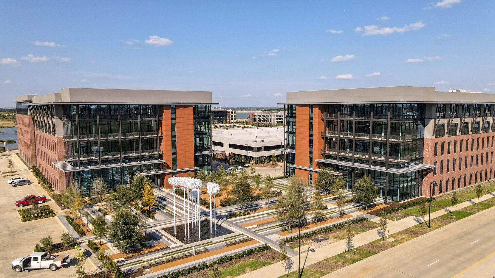 3401 and 3501 Olympus Boulevard are the two newest offices at Cypress Waters.