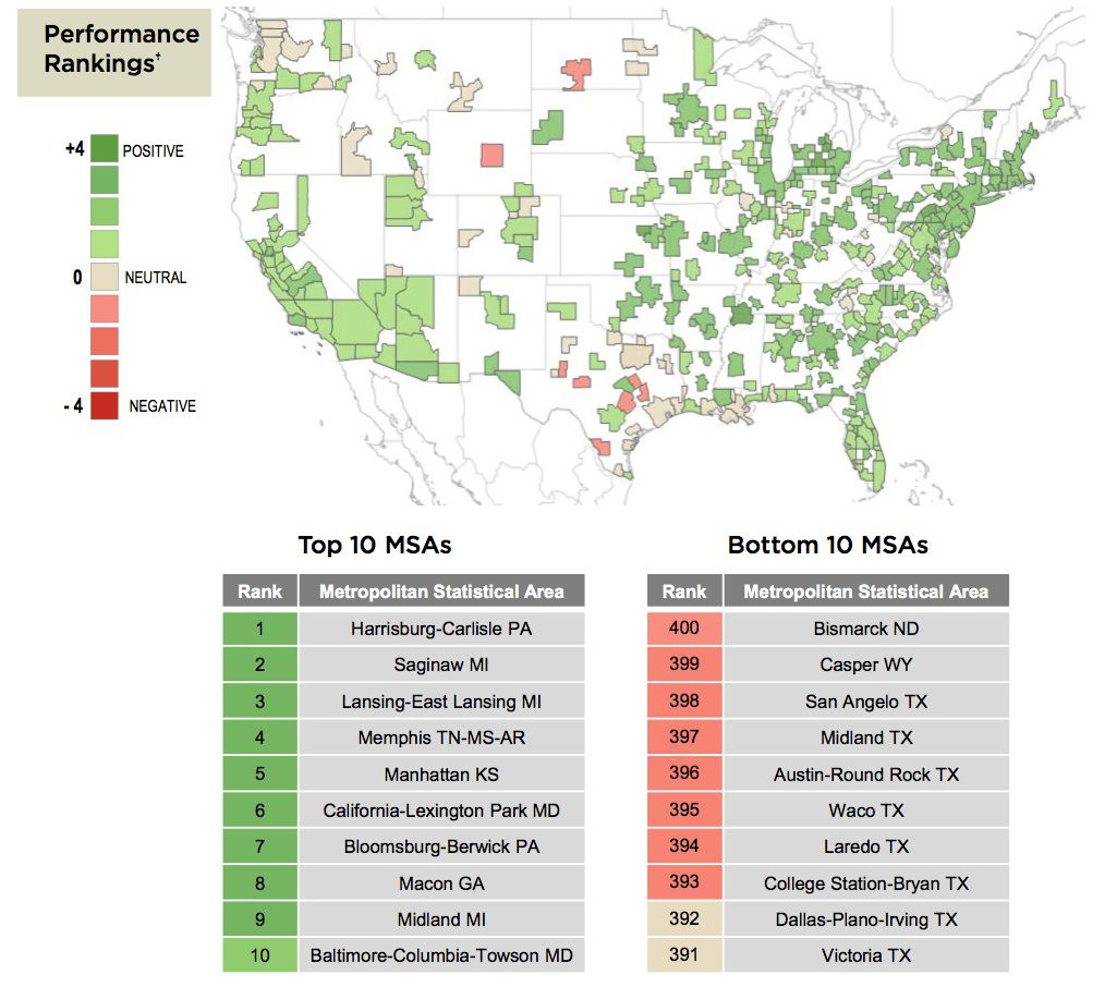The Dallas-area was included in the list of the country's most unhealthy housing markets because its overheated. (Nationwide)