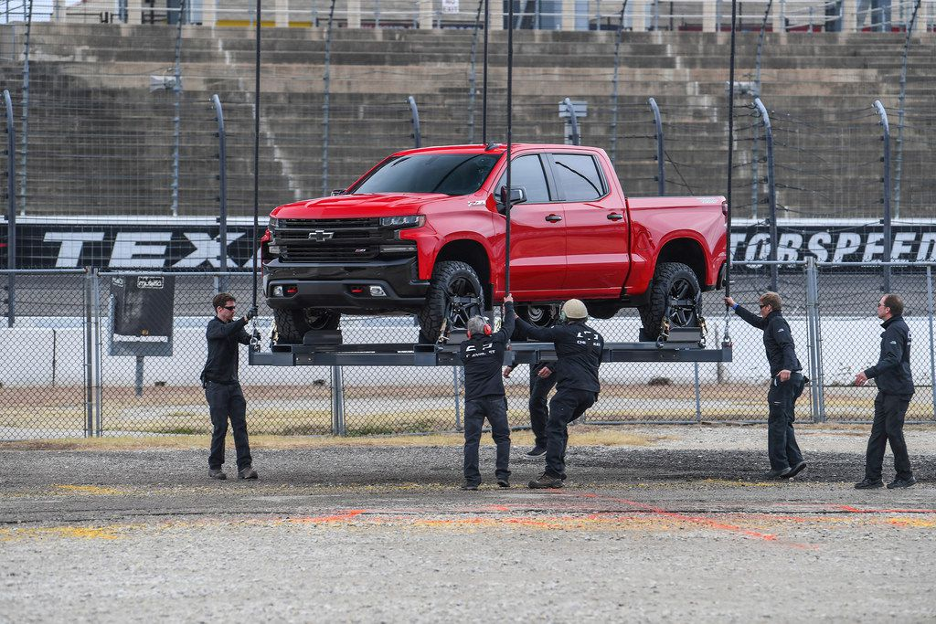 The all-new 2019 Chevrolet Silverado was introduced at an event celebrating the first 100 years of Chevy Trucks on Dec. 16 in Dallas.