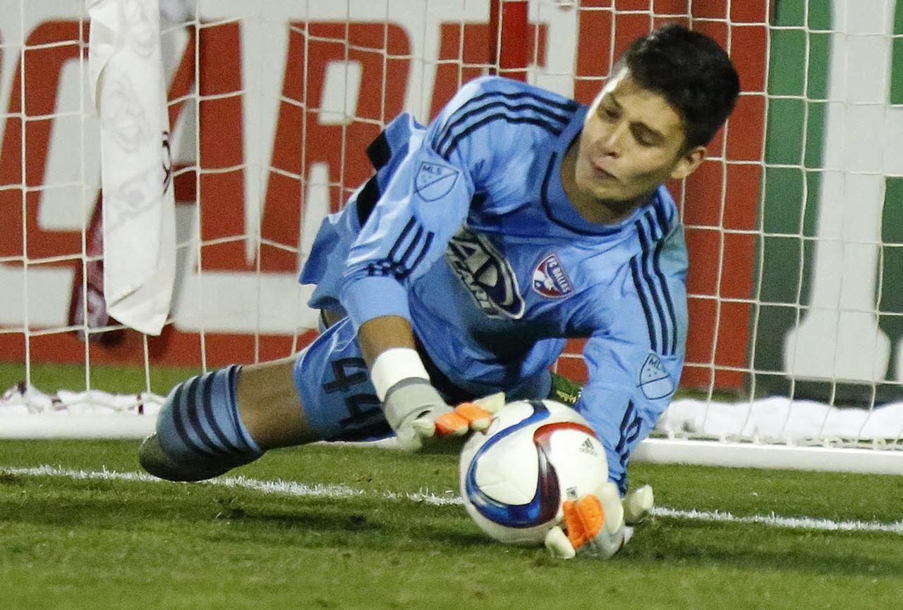 Jesse González es el arquero titular del FC Dallas de la MLS. (ESPECIAL PARA DMN/STEWART F. HOUSE)