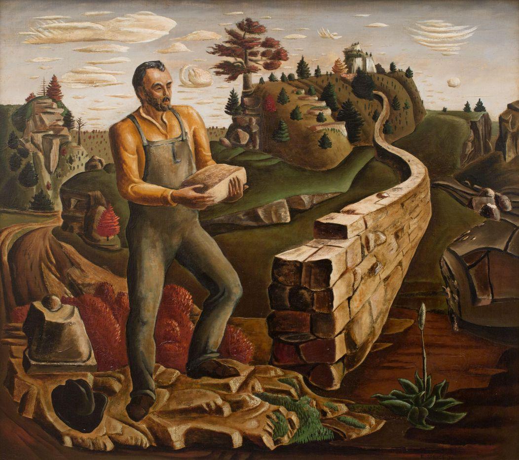 Arkansas Mountaineer, Everett Spruce, 1936