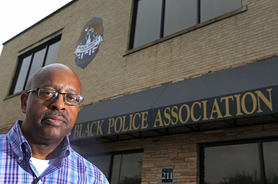 Thomas Glover, president of the Black Police Association of Greater Dallas, believes latent bias comes out the most in traffic enforcement. (Louis DeLuca/Staff Photographer)